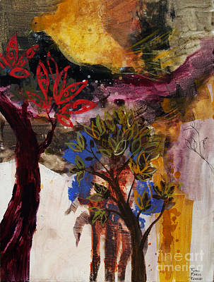 Painting - Above The Tree Tops by Robin Maria Pedrero