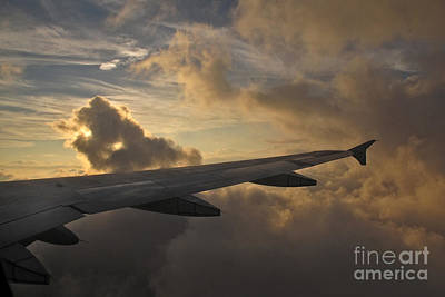 Art Print featuring the photograph Above The Weather by Inge Riis McDonald
