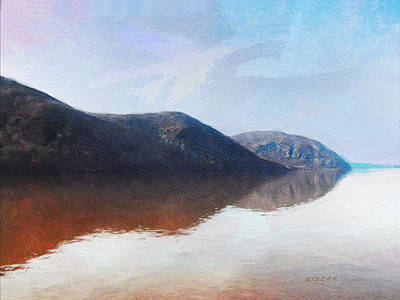 Digital Art - Above West Point by David Klaboe