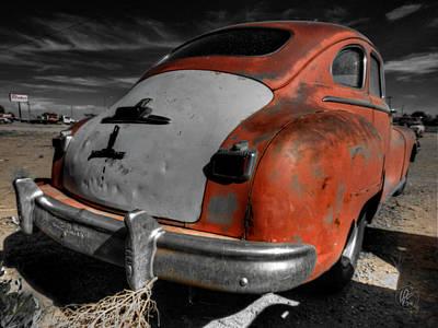 Automobile Photograph - Abq - '49 Dodge Coronet by Lance Vaughn