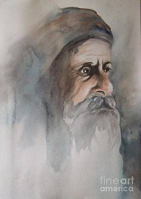 Painting - Abraham by Annemeet Hasidi- van der Leij