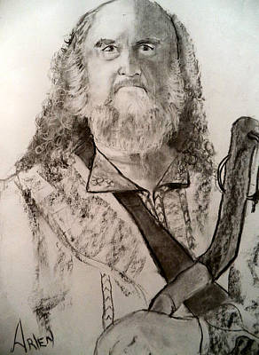 Drawing - Abraham by Arlen Avernian - Thorensen
