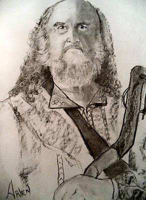 Drawing - Abraham by Arlen Avernian Thorensen