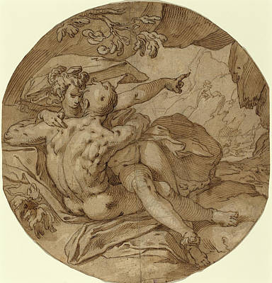 Abraham Bloemaert Dutch, 1564 - 1651, Acis And Galatea Art Print