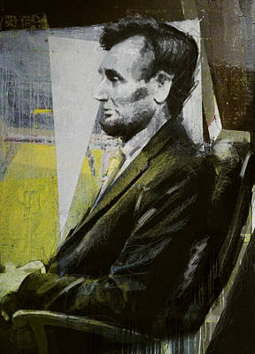 Painting - Abraham Lincoln 03 by Corporate Art Task Force