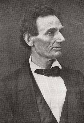 Lincoln Portrait Photograph - Abraham Lincoln, 1860 by American School
