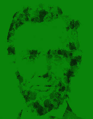 Gettysburg Address Painting - Abraham Lincoln 2a by Brian Reaves