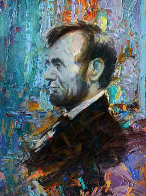 Lincoln Portrait Painting - Abraham Lincoln 6 by Corporate Art Task Force