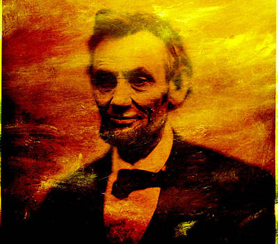 Honest Abe Painting - Abraham Lincoln by Joel Zimmerman