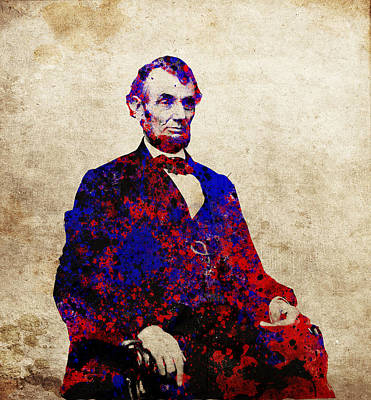 Civil Painting - Abraham Lincoln by Bekim Art