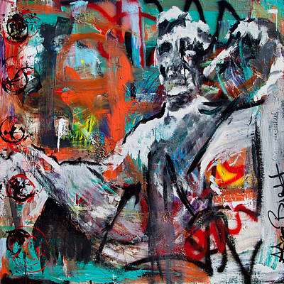 Painting - Abraham Lincoln Monument by Adam Brett