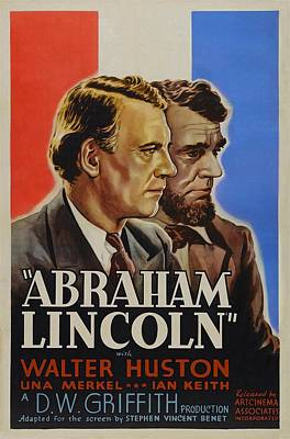 Abraham Lincoln Art Print by Movie Poster Prints
