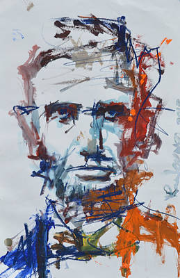 Painting - Abraham Lincoln Painting by Robert Joyner
