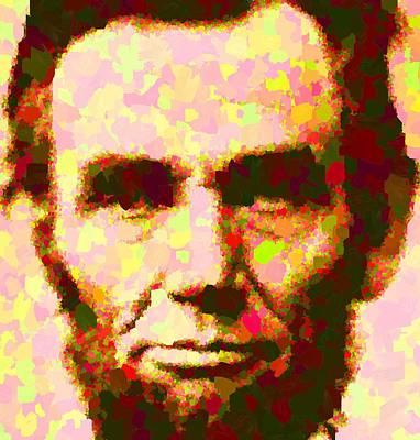 Abraham Lincoln Portrait Art Print