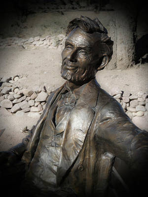 Photograph - Abraham Lincoln by Regina Arnold