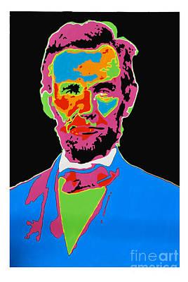 Abraham Lincoln Original by Ryan Paul Simmons