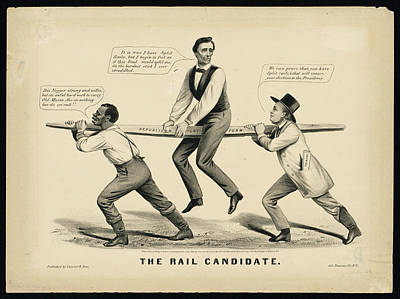 Politicians Royalty-Free and Rights-Managed Images - Abraham Lincoln  The Rail candidate by MotionAge Designs
