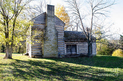 Photograph - Abraham Lincoln's Birthplace by Mary Carol Story