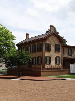 Politicians Royalty-Free and Rights-Managed Images - Abraham Lincolns Springfield Home by Dan Sproul