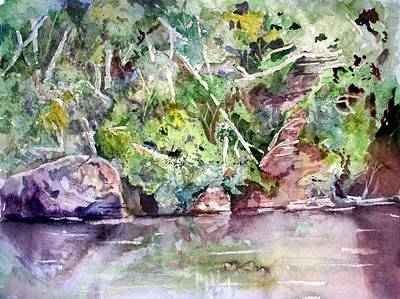 Painting - Abram's Creek by Barry Jones