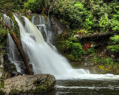 Photograph - Abrams Falls Cade's Cove Tn by Coby Cooper