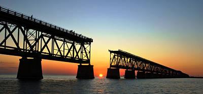 Photograph - Abridged Bridge II by Daniel Woodrum