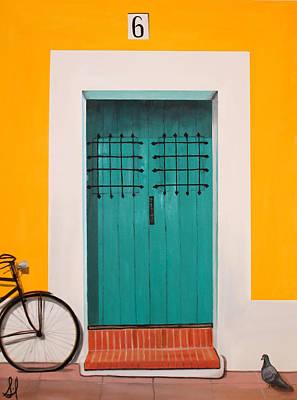 Abriendo Puertas - Open Doors Original by Sharif Muhammad