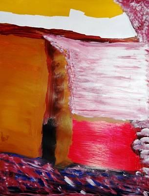Absence Print by Fatiha Boudar