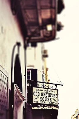 Photograph - Absinthe House by Heather Green