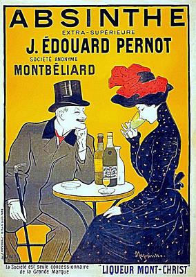 Absinthe - Pernot Art Print