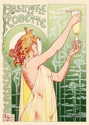 Absinthe Robette Art Print by Gianfranco Weiss