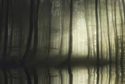Haze Photograph - Absolute Silence by Norbert Maier