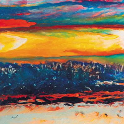 Painting - Absorbed By The Sun 3 by The Art of Marsha Charlebois