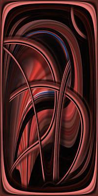 Photograph - Abstrackt Vision by Radoslav Nedelchev