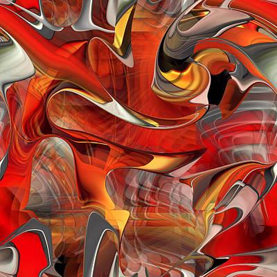 Digital Art - Wander - 010 by rd Erickson