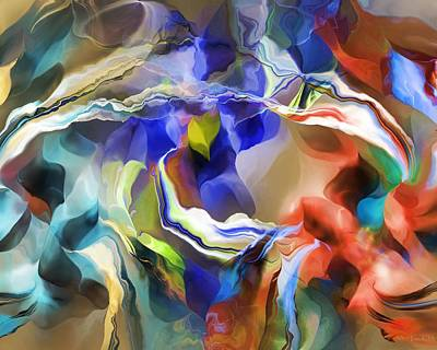 Digital Art - Abstract 012613 by David Lane