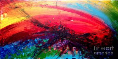 Abstract 02 Art Print by Juan Jimenez