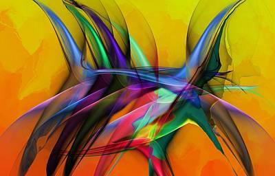 Digital Art - Abstract 031513 by David Lane
