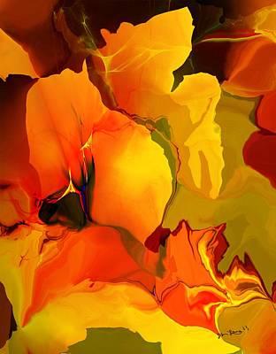 Digital Art - Abstract 032613 by David Lane