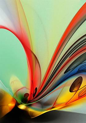 Abstract 040713 Art Print