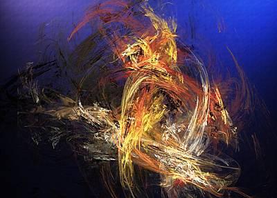 Digital Art - Abstract 042113a by David Lane