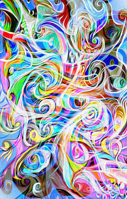 Digital Art - Abstract 05 by Gregory Dyer