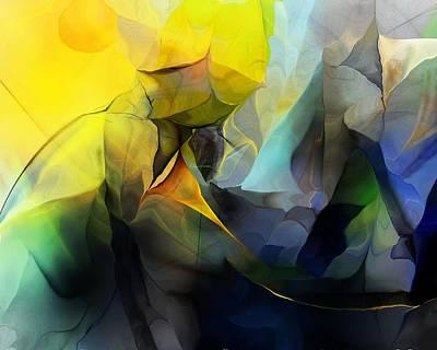 Digital Art - Abstract 050113a by David Lane