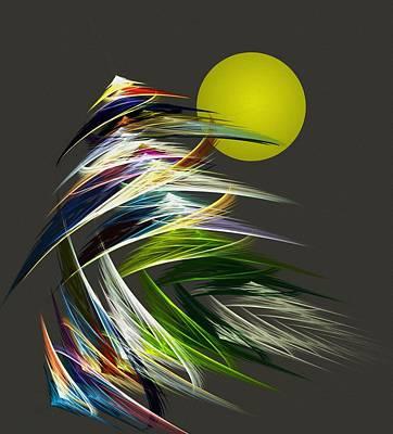 Digital Art - Abstract 051013 by David Lane
