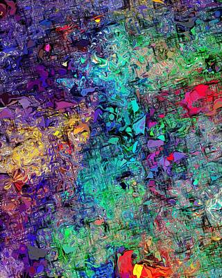 Digital Art - Abstract 061313 by David Lane