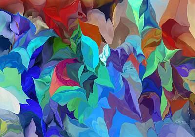 Digital Art - Abstract 062713 by David Lane