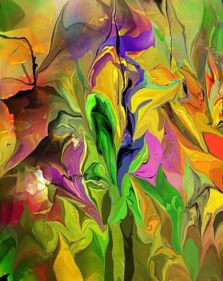 Digital Art - Abstract 070313 by David Lane