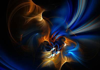 Digital Art - Abstract 091113 by David Lane