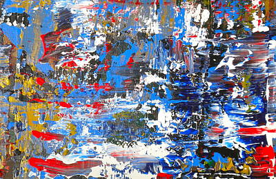 Painting - Abstract 1 by Dylan Chambers