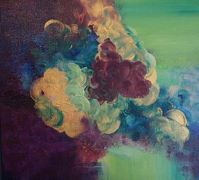 Art Print featuring the painting Abstract 1 by Kristine Bogdanovich